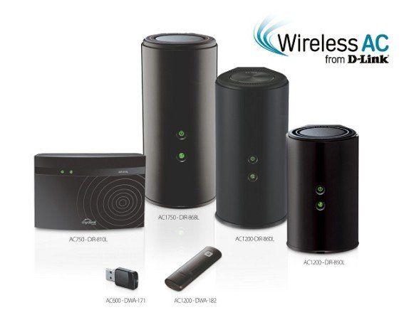 33 Dlink nuevos routers AC WiFi