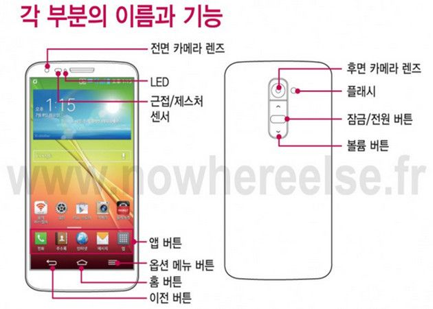 Filtrado el manual del superphone LG Optimus G2
