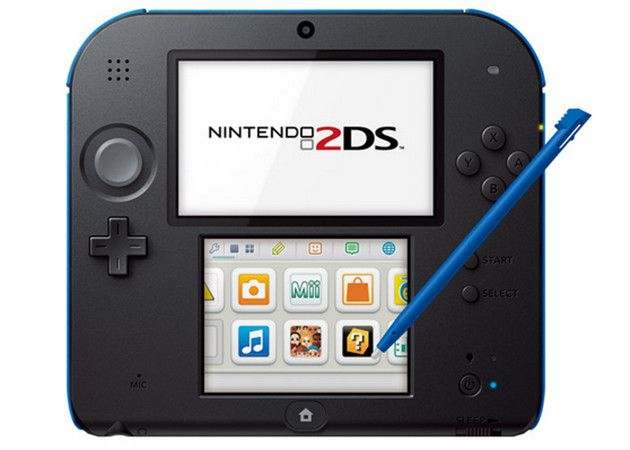 Nintendo 2DS, nueva portátil para frenar el juego móvil