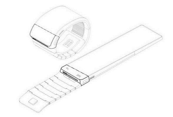 diseño del smartwatch de samsung imgx1x212