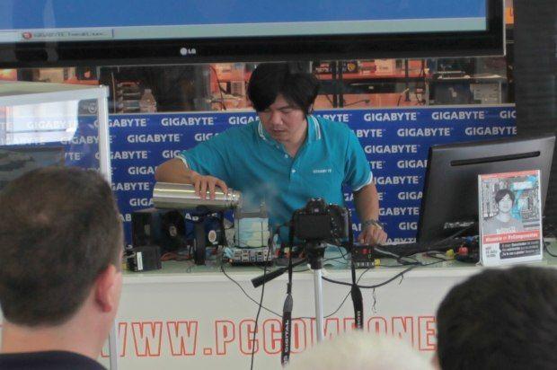 HiCookie bate récords con la GIGABYTE Z87X-OC