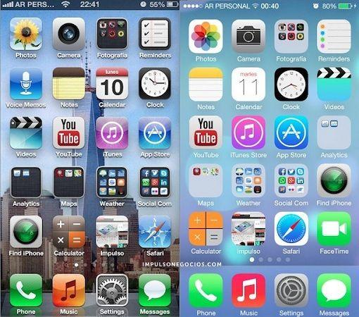 Ya está disponible para descarga la beta 5 de iOS 7