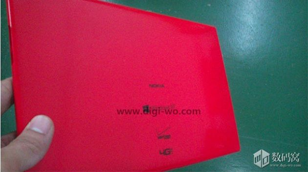 Primera imagen de la tablet de Nokia: Snapdragon 800 y Windows RT