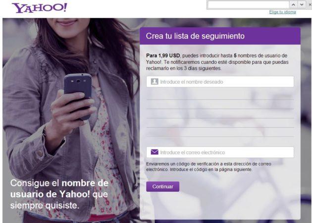 Yahoo! vende cuentas usadas por 1,99 dólares