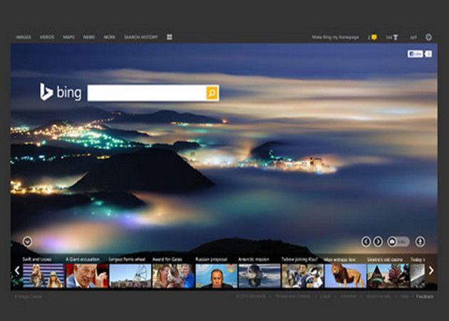 Nuevo look y mejoras para Bing