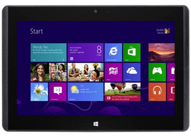 MSI W20, tablet AMD sin ventiladores