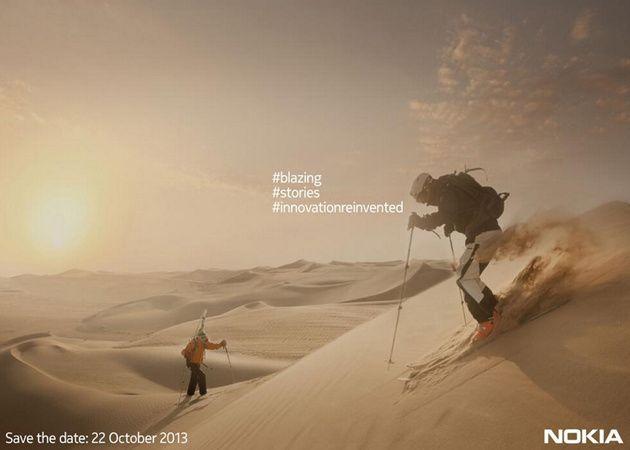 Nokia presentará su phablet el 22 de octubre