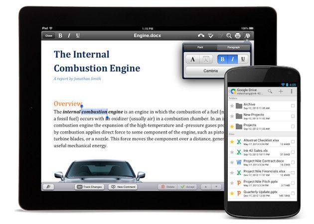 Google ofrece Quickoffice gratis total para iOS y Android