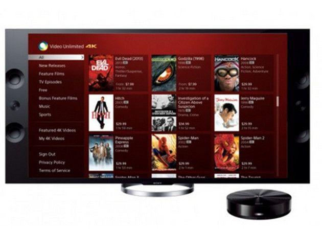 Sony Video Unlimited 4K, primer servicio de descarga 4K