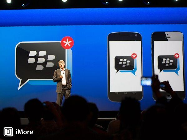BlackBerry Messenger llega este fin de semana a Android e iOS