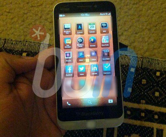 El nuevo BlackBerry serie C asoma en una imagen filtrada