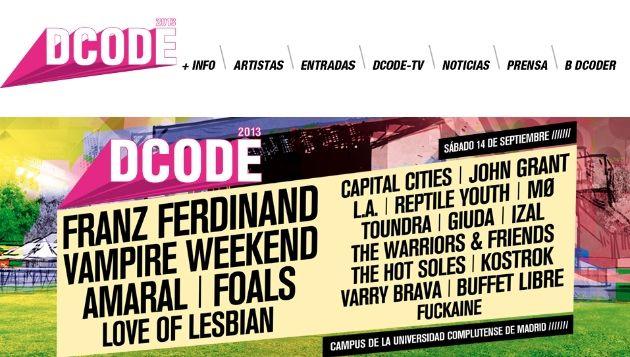 Disfruta de DCODE Festival a través de Google+ y YouTube