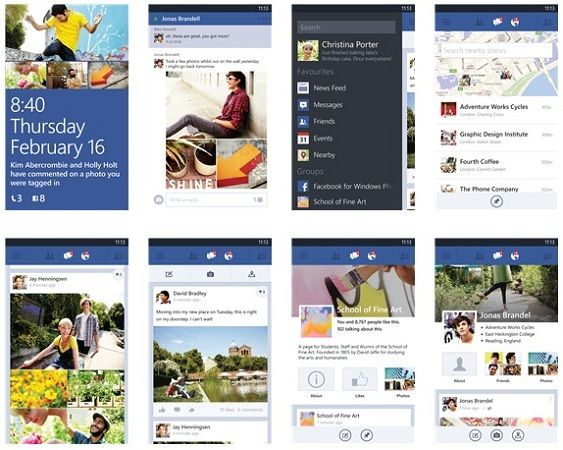 La beta de Facebook para Windows Phone añade soporte a WP 7