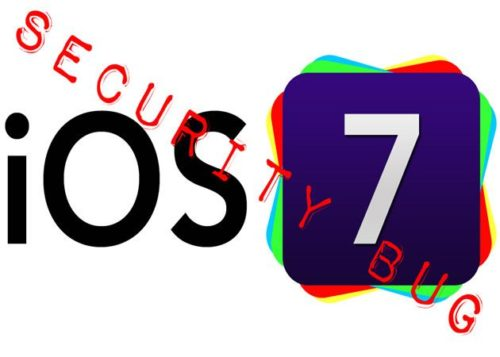 Un soldado español detecta un fallo de seguridad en iOS 7