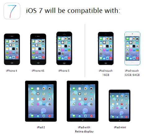 iOS 7 ya está disponible para descargar en España