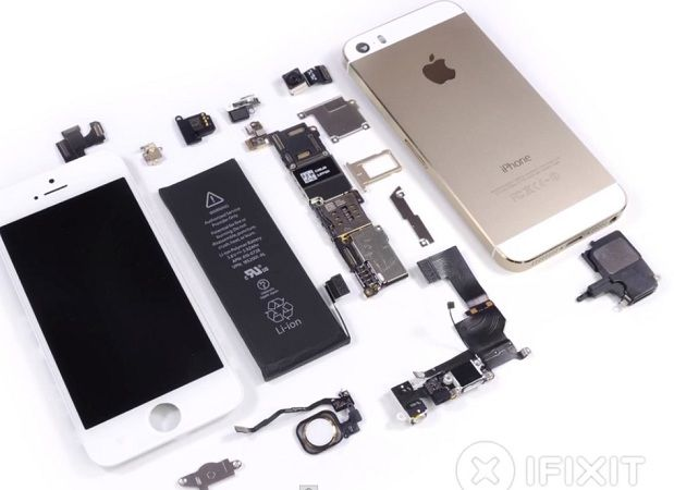 iphone 5s muestra en vídeo mc 123 xfix