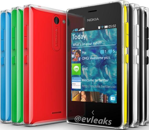 Nokia Asha 502 asoma antes de su lanzamiento, económico y con flash