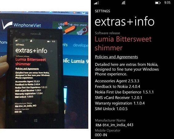 Avistada la actualización GDR3 en un Nokia Lumia 520