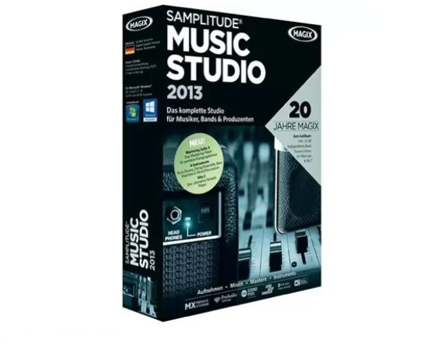 Consigue gratis un Samplitude Music Studio 2013 de MAGIX