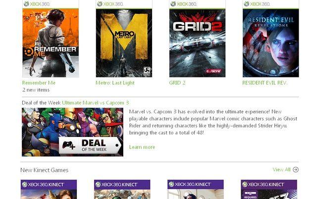 Microsoft cambia el nombre de su Xbox Live Marketplace