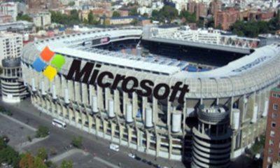 El estadio del Madrid podría llamarse Bernabéu Microsoft 55
