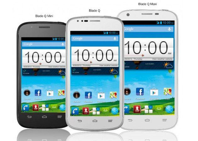 ZTE presenta los smartphones Blade Q