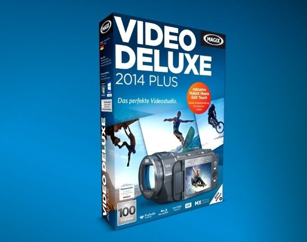 Consigue gratis un MAGIX Video Deluxe 2014 Plus