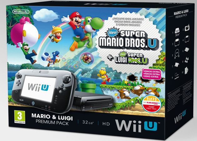 Nintendo anuncia packs navideños de Wii U