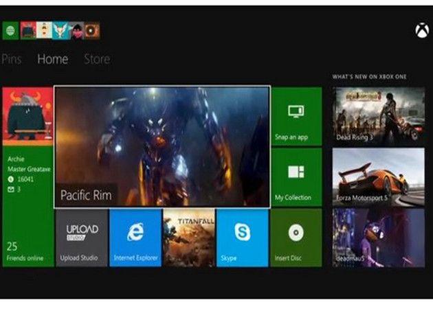 XboxOne-dashboard