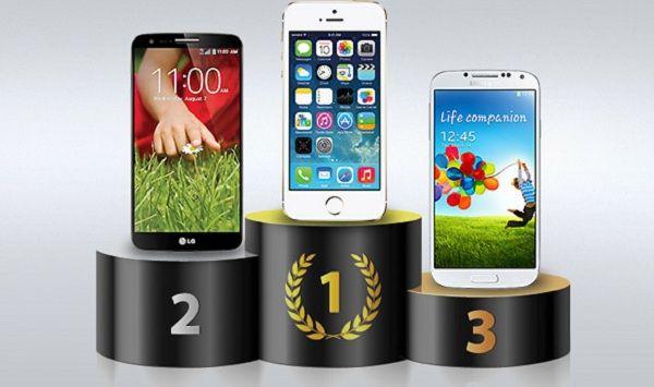 El iPhone 5S es el más rápido, según un test independiente
