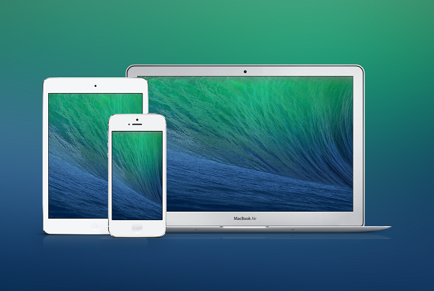 Mavericks OS X llega a la versión Golden Master, iOS 8 en desarrollo