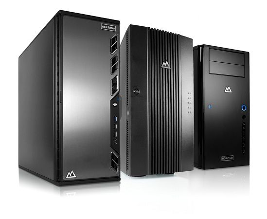 nuevos servidores y estaciones de trabajo mountain x232