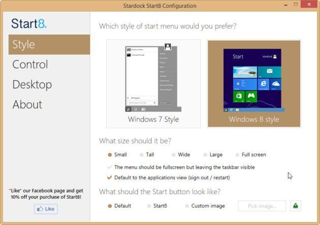 Seis formas de poner un botón Inicio de verdad a Windows 8.1