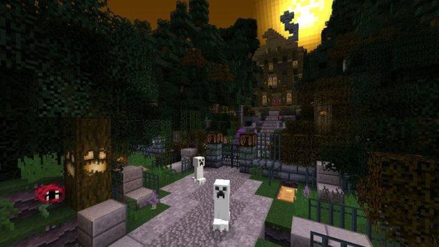 Pack de texturas de Halloween para Minecraft disponible en Xbox 360