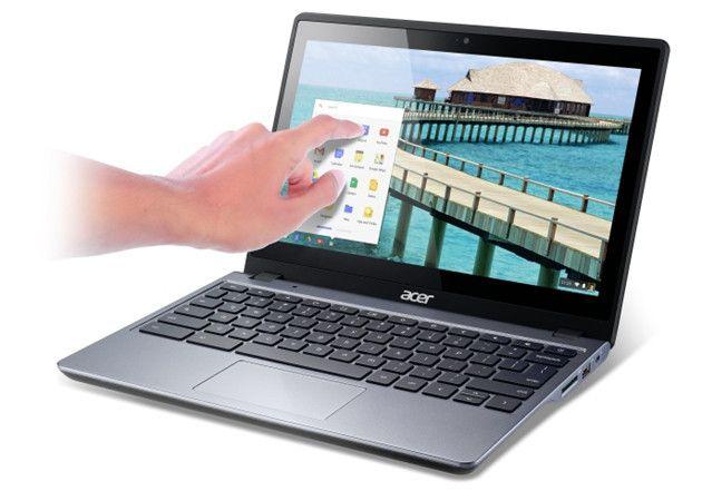 Acer C720P, aquí está el Chromebook táctil
