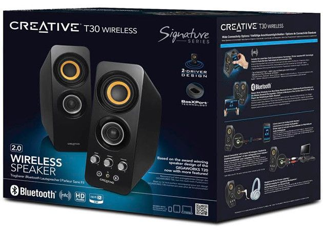 Creative T15 y T30, altavoces Bluetooth y NFC