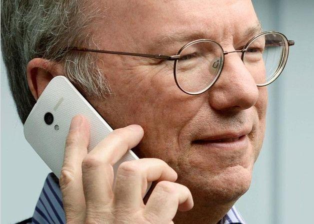 De iPhone a Android con el presidente de Google, Eric Schmidt