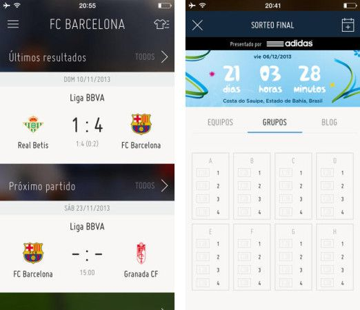 App oficial FIFA para iPhone y Android