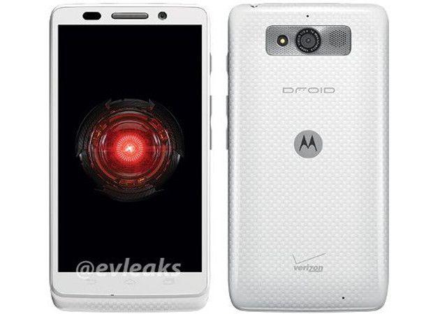 Motorola Droid Mini blanco, listo para Navidad