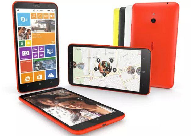 Nokia Lumia 1320, un phablet de gama media