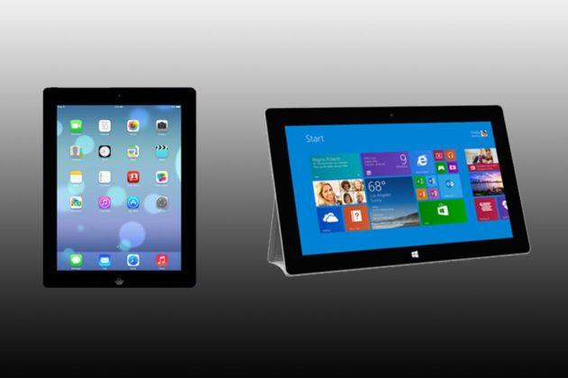 Surface 2 saca pecho ante la falta de puertos USB en el iPad