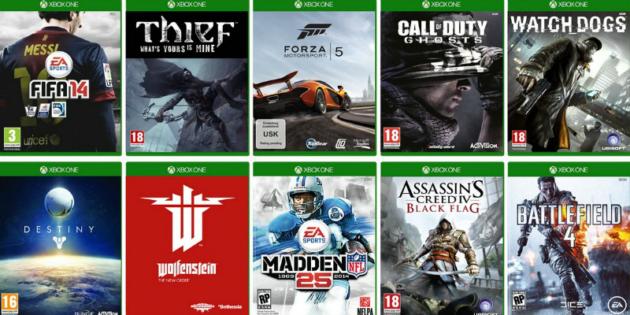 XboxOne-Games
