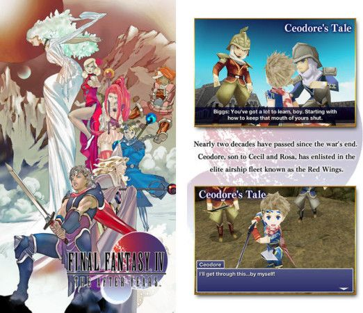 Final Fantasy IV: The After Years, ya disponible