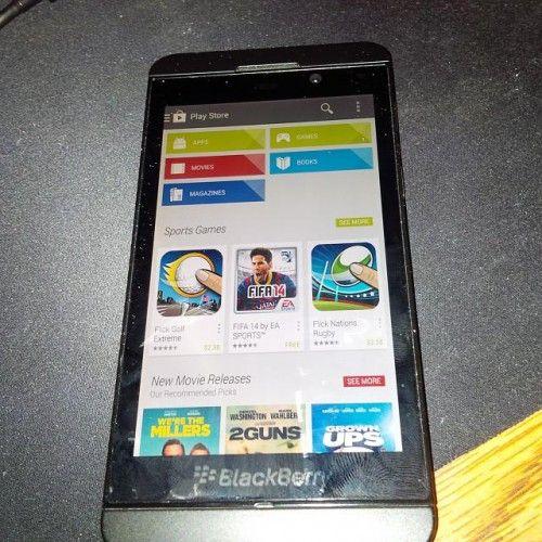 BlackBerry 10.2.1 vendría con Google Play bajo el brazo 28