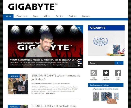 GIGABYTE Spain, toda la información sobre placas base GIGABYTE en castellano