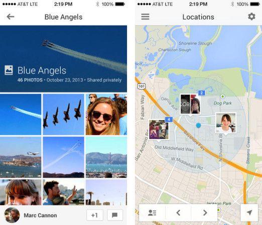 Google actualiza su app Google+ para iOS