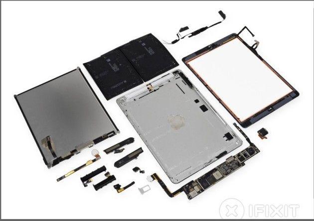iFixit nos muestra las vergüenzas del iPad Air y recibe un 2 sobre 10
