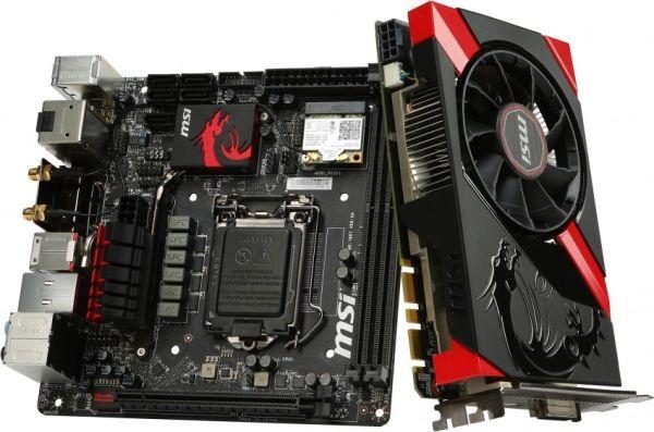 MSI muestra dos nuevos componentes mini-ITX dentro de su serie Gaming