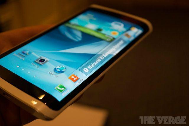 Samsung estaría preparando smartphone con pantalla de tres lados