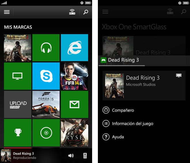 Xbox One SmartGlass, app disponible para iOS y Android
